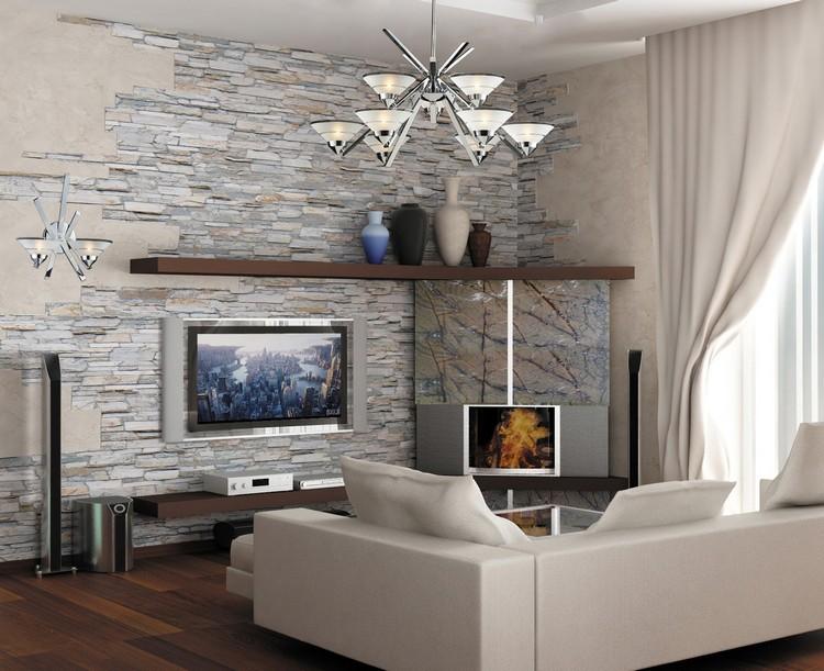 48b0ffc2 Dekorere gangen med dekorativ stein ser interessant og presentabel i  interiøret. Dette materialet har gode egenskaper, er lett montert på veggene,  ...